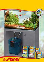 sistema filtraggio acquario