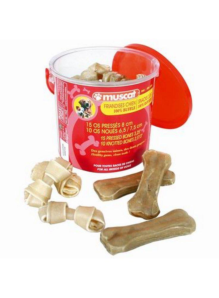 Secchiello 15 osso mini + 10 osso nodo art.486544