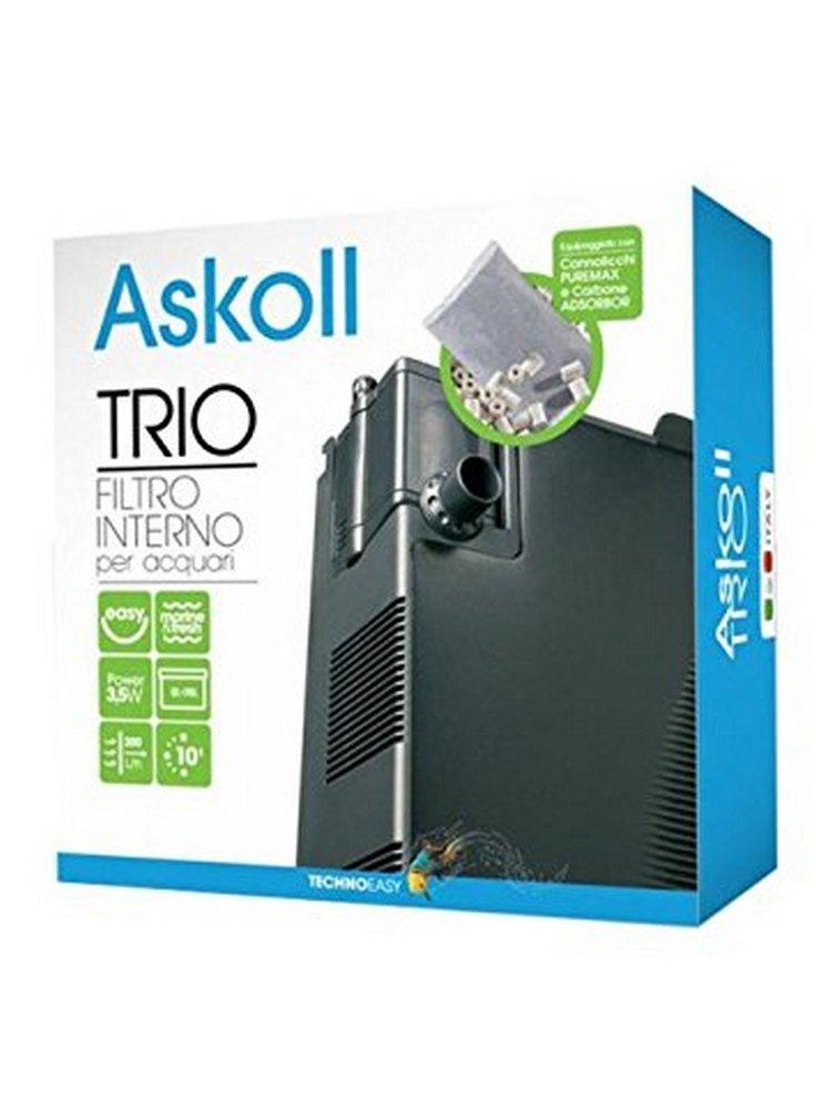 Askoll filtro interno TRIO per acquari fino a 70l