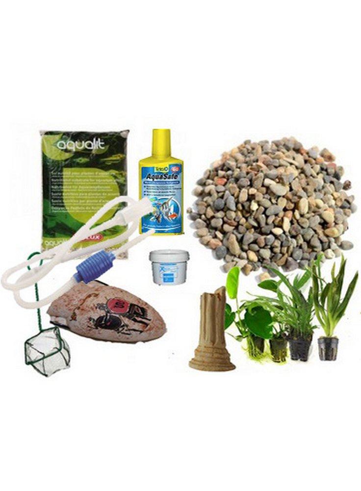 kit completo per allestire l'acquario pure askoll