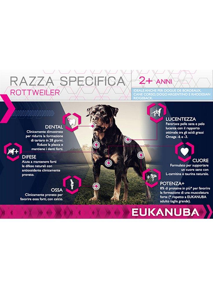 Eukanuba Dog Breed Specific All Rottweiler Chicken Kg 12 Eukanuba