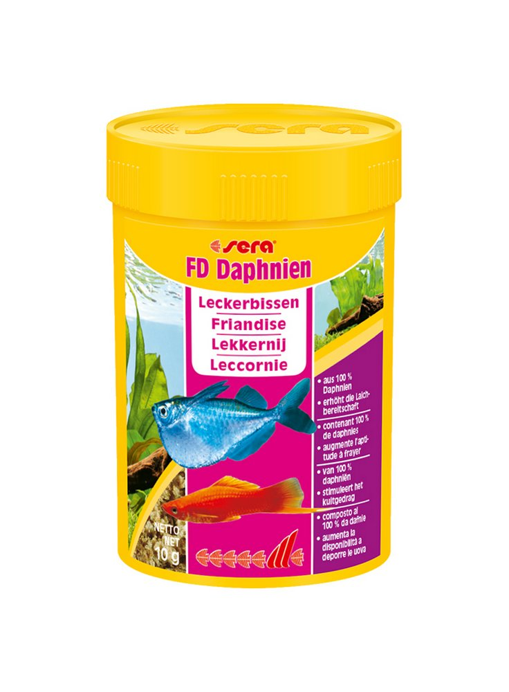 Sera FD daphnien 100 ml dafnie