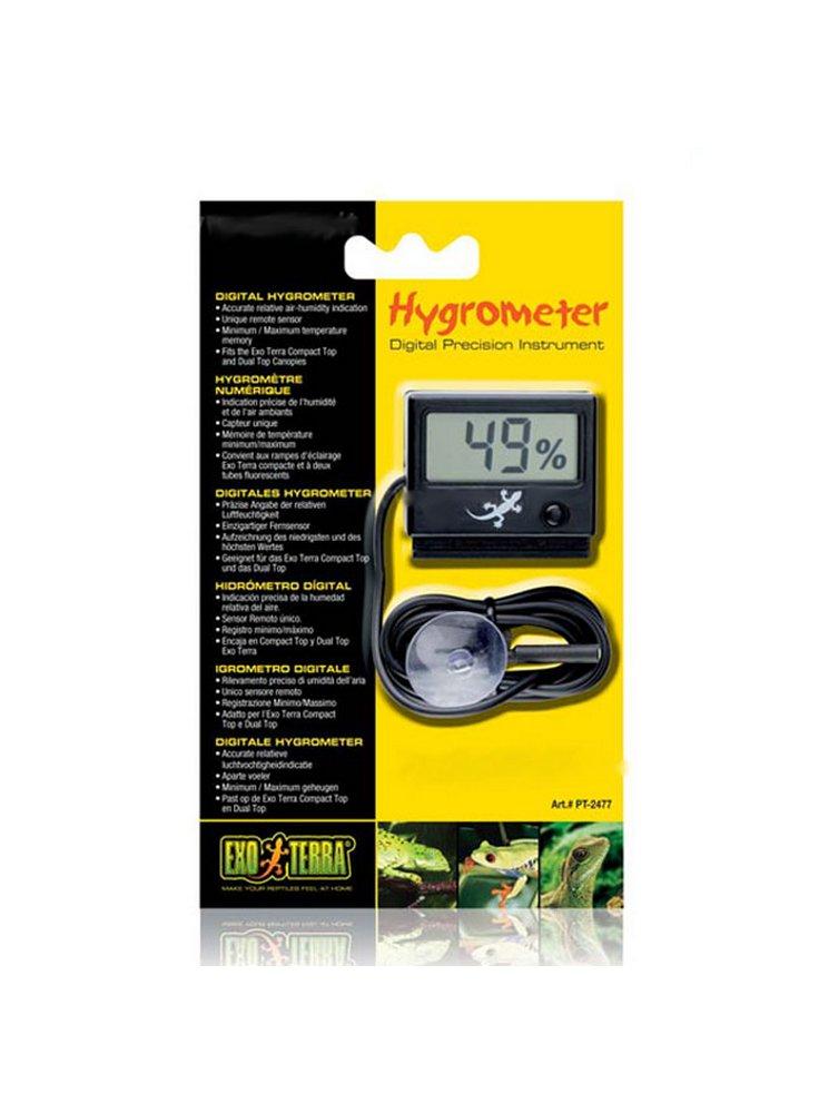 Igrometro digitale exoterra