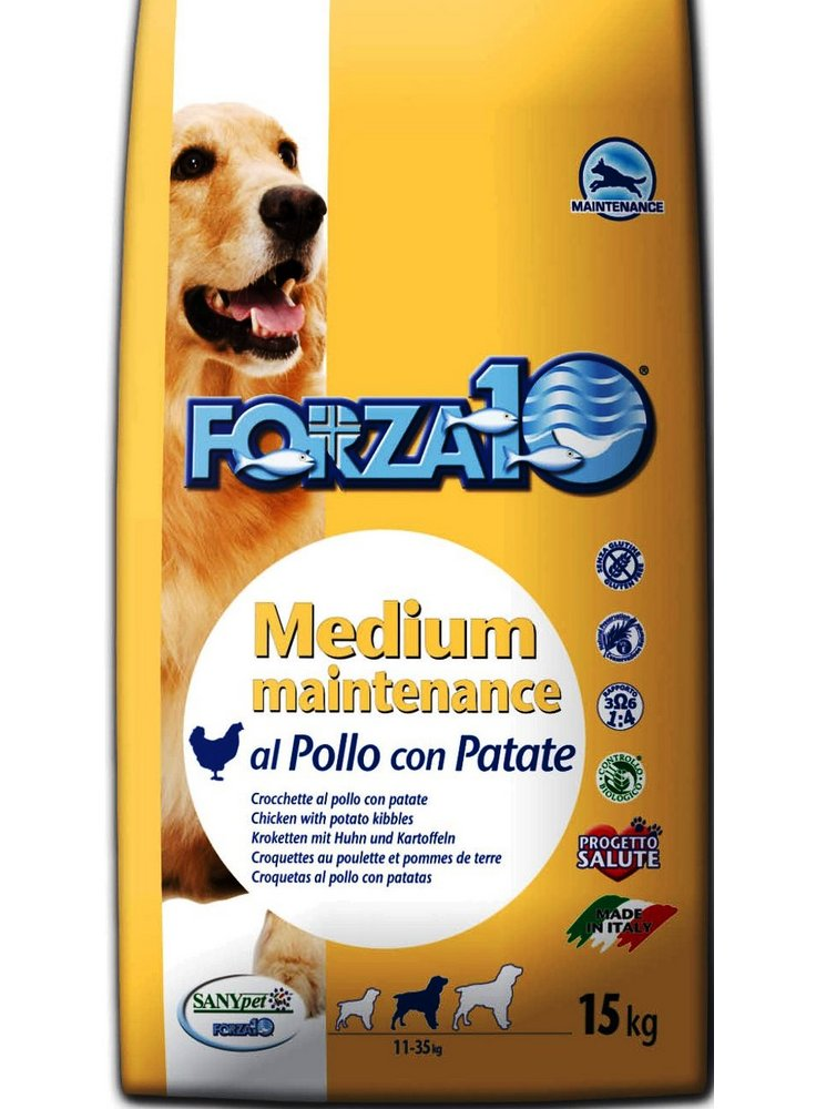 Forza 10 medium maintenance pollo e patate kg 12,5
