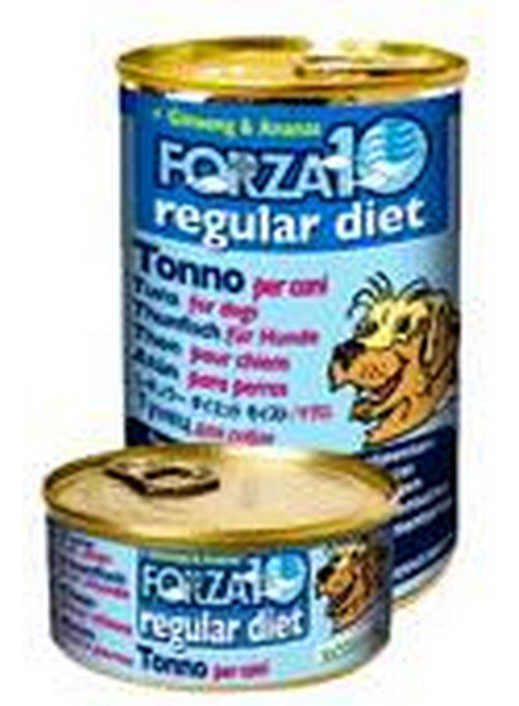 Forza 10 regular diet tonno ginseng e ananas cane 6x420gr