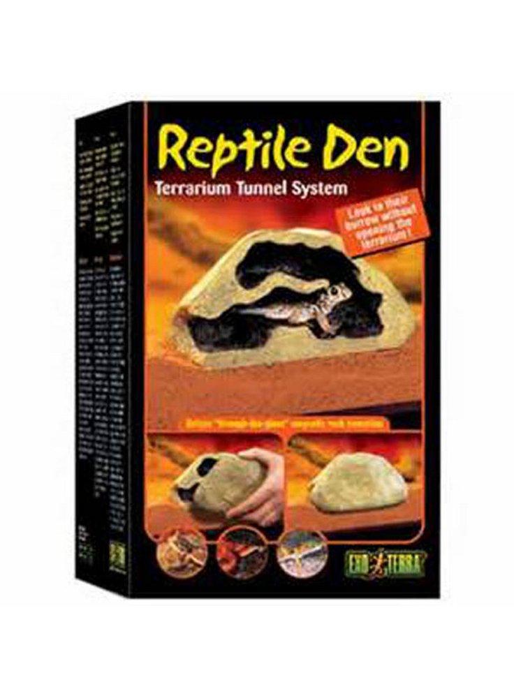 Reptile den- tana per rettili a tunnel medium