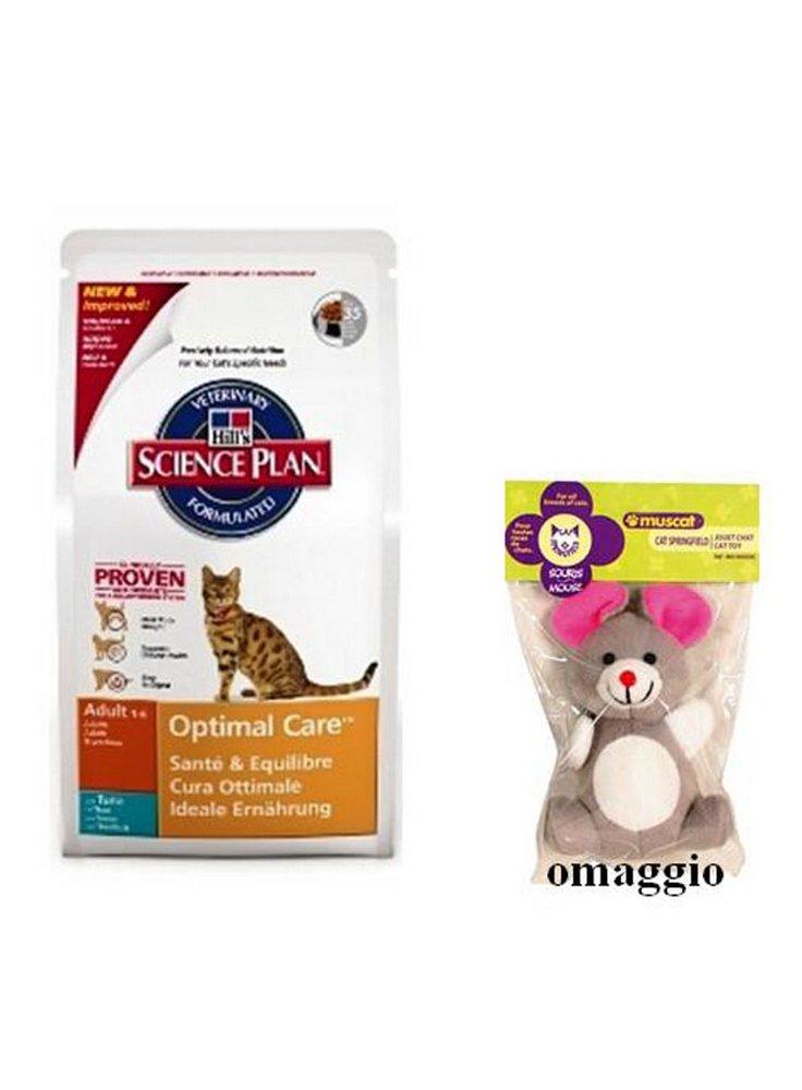 Hills Feline Adult Con Tonno 10 Kggioco Omaggio Hills Pet Nutrition