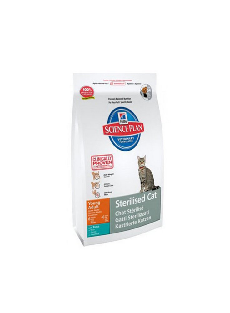 hill's feline Sterilised cat young adult kg 1,5 tonno