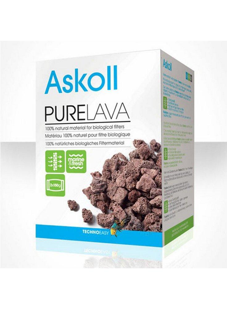 Materiale Filtrante Biologico per Acquario PURE LAVA 2x150 gr