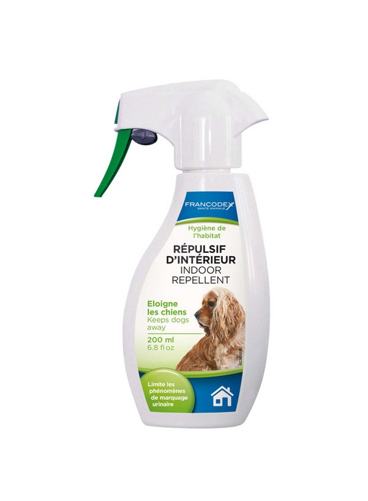 Repellente per interni per cani 200ml