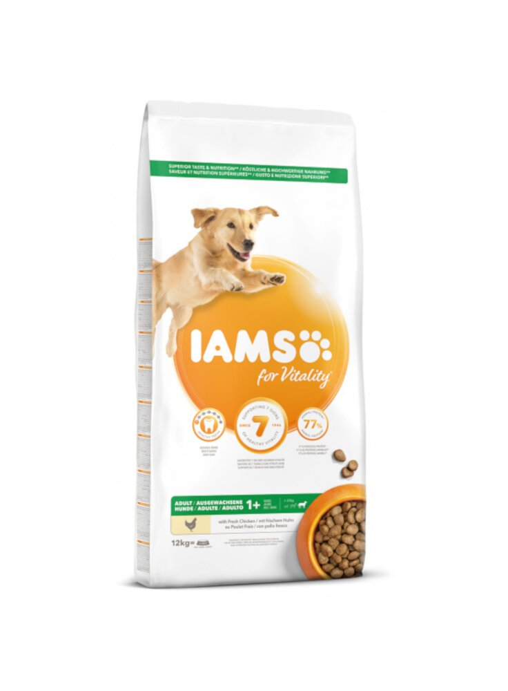 Iams Dog Base Adult large Breeds Chicken kg 12