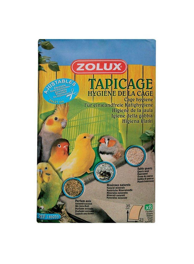 Zolux fogli di carta Tapicage 35x21 cm