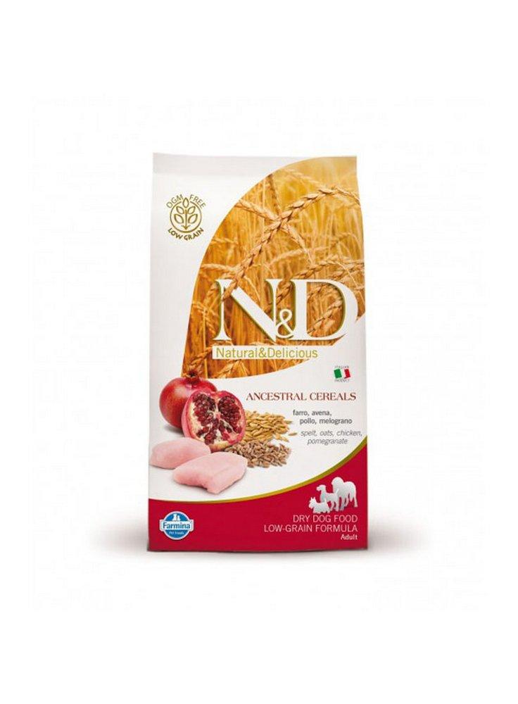 n&d Farmina Crocchette dog adult Ancestral medium maxi pollo e melograno 12kg