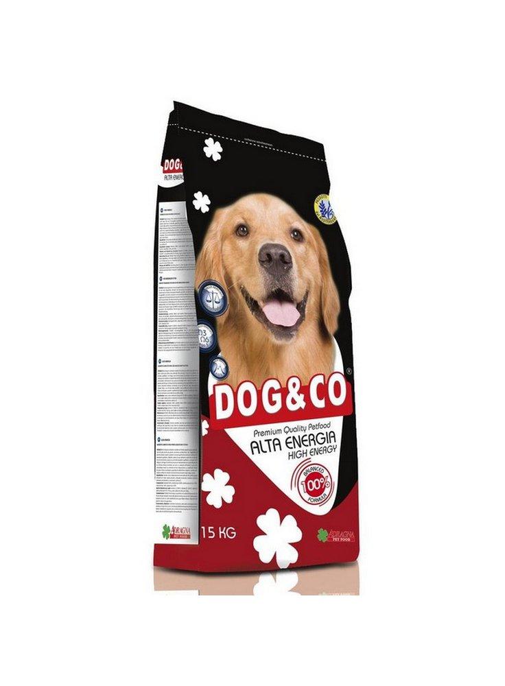 Dog & co Alta energia adult kg 15