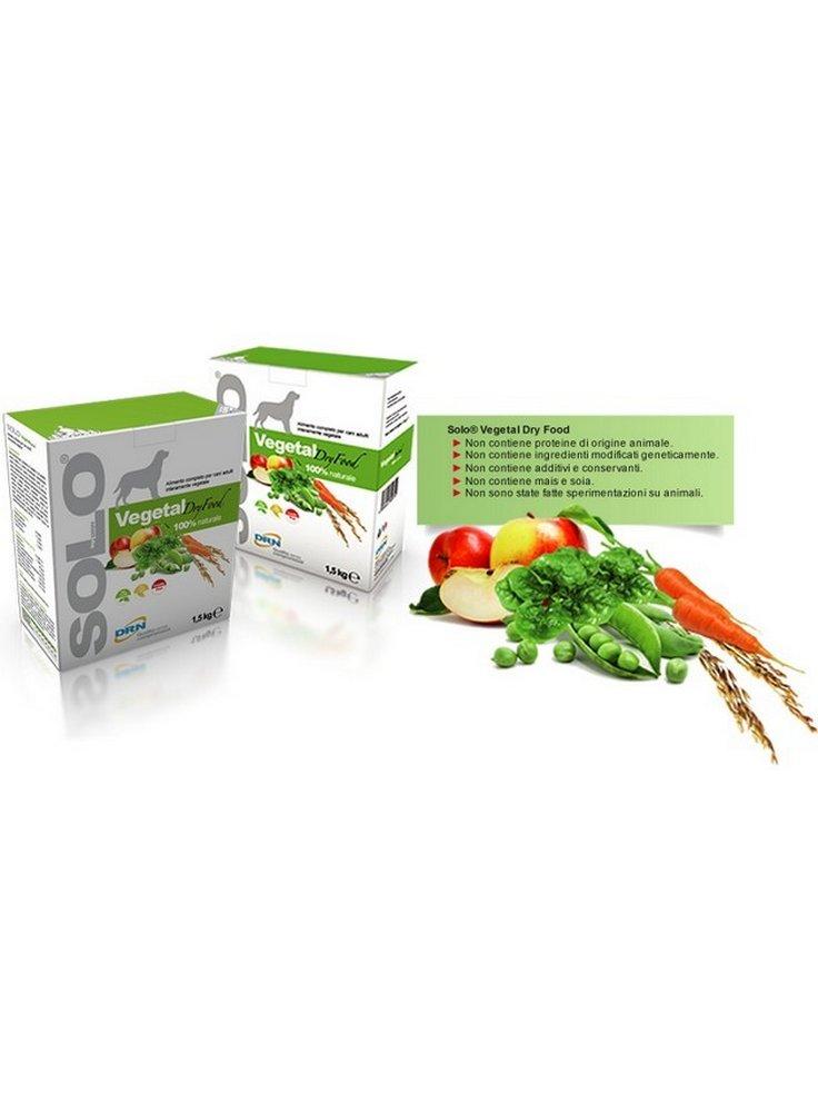 DRN SOLO VEGETAL Dry Food 100% NATURALE 1,5 kg