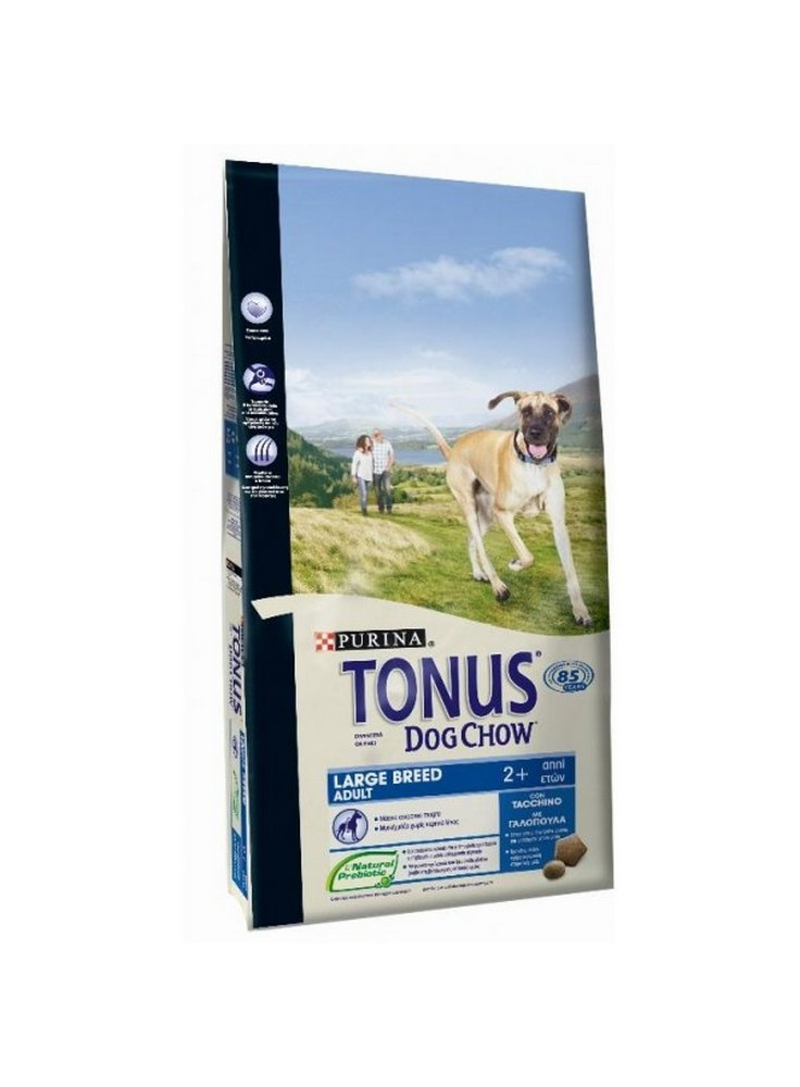 Purina Tonus dog chow Cane Puppy Large Breed Tacchino - 3 e 14 kg