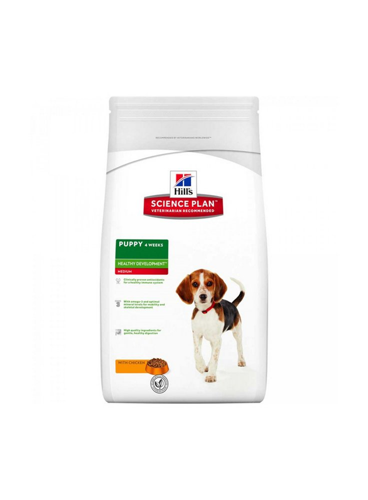 Hill's canine puppy medium pollo 1 3 e 12 kg