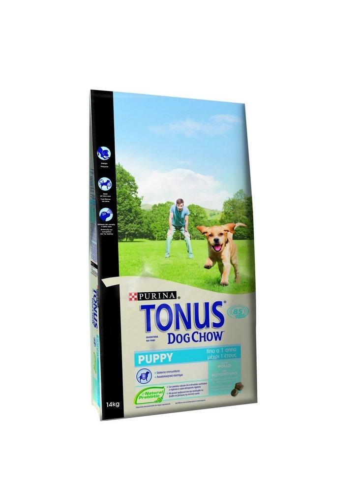 Purina Tonus dog chow Cane Puppy Pollo 3 e 14 kg