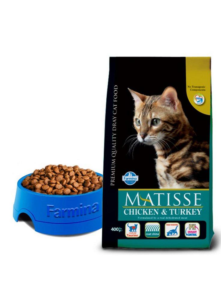 Farmina Matisse gatto pollo, tacchino e verdure10Kg