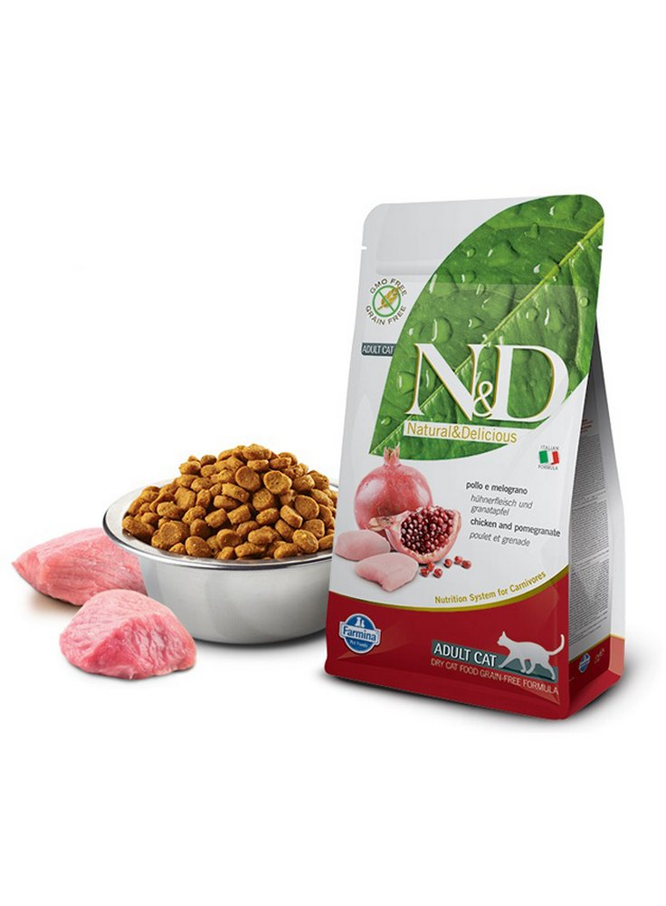 Farmina N&D gatto grain free pollo melograno 10Kg