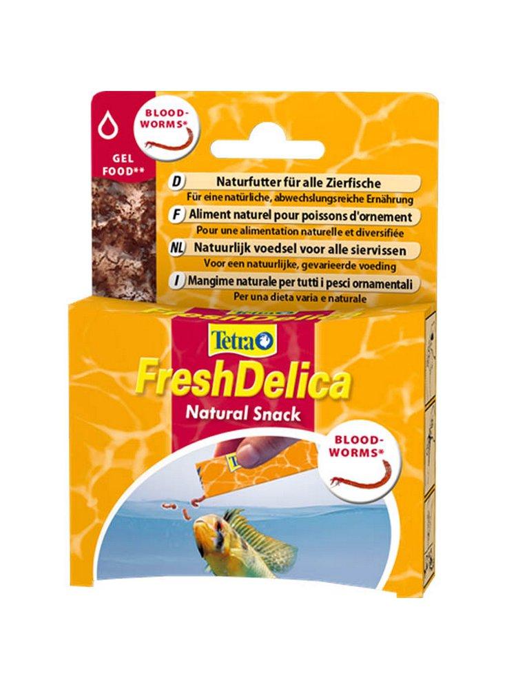 Tetra fresh delica chironomus larve di zanzara
