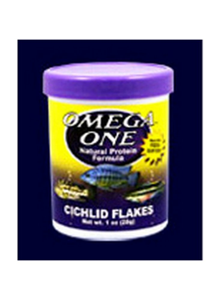 Omega one Cichlid flakes 300ml