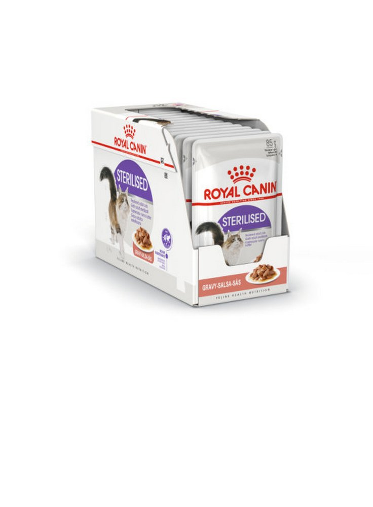 Sterilised buste gatto Royal Canin 12x85 gr