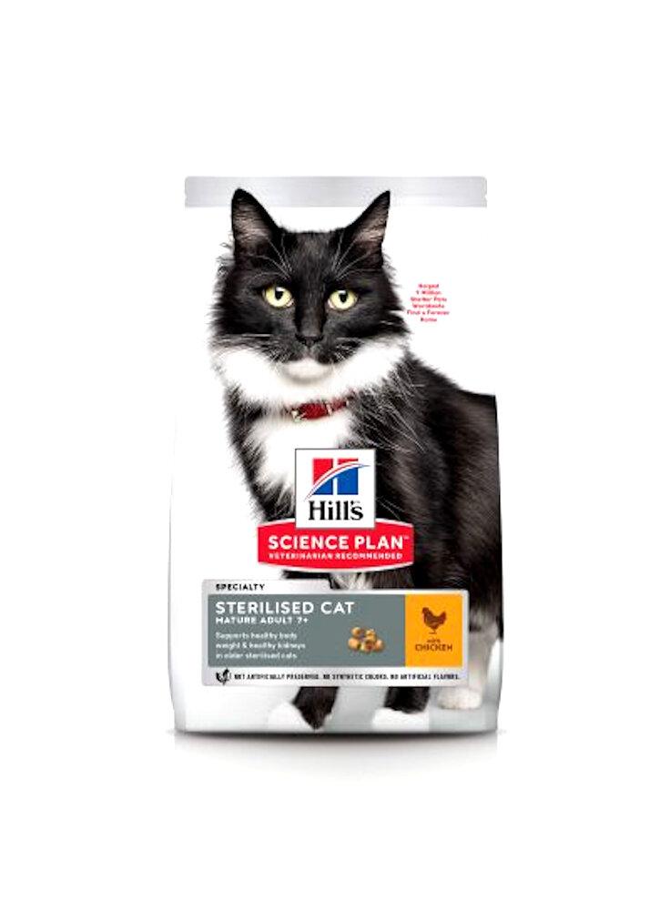 Hill's feline Sterilised cat mature adult pollo