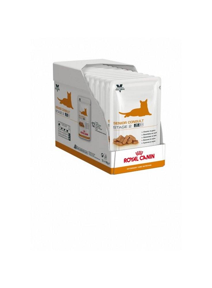 Senior Consult Stage 2 buste umido gatto Royal Canin 12x100 gr