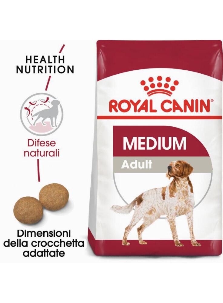 Medium Adult cane Royal Canin 15 Kg