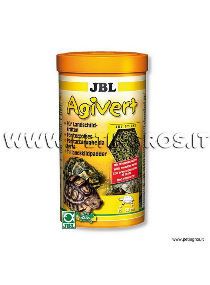 JBL Agivert Jbl mangime a base vegetale specifico per Tartarughe di Terra