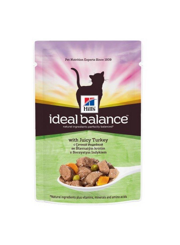 Hill's Ideal balance Adult alimento umido per gatti 12x85 Gr