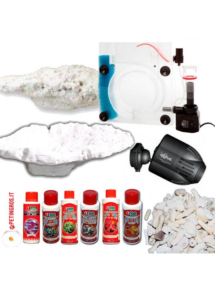Vendita juwel rio 350 led nero bianco darkwood juwel for Acquario marino 300 litri prezzo