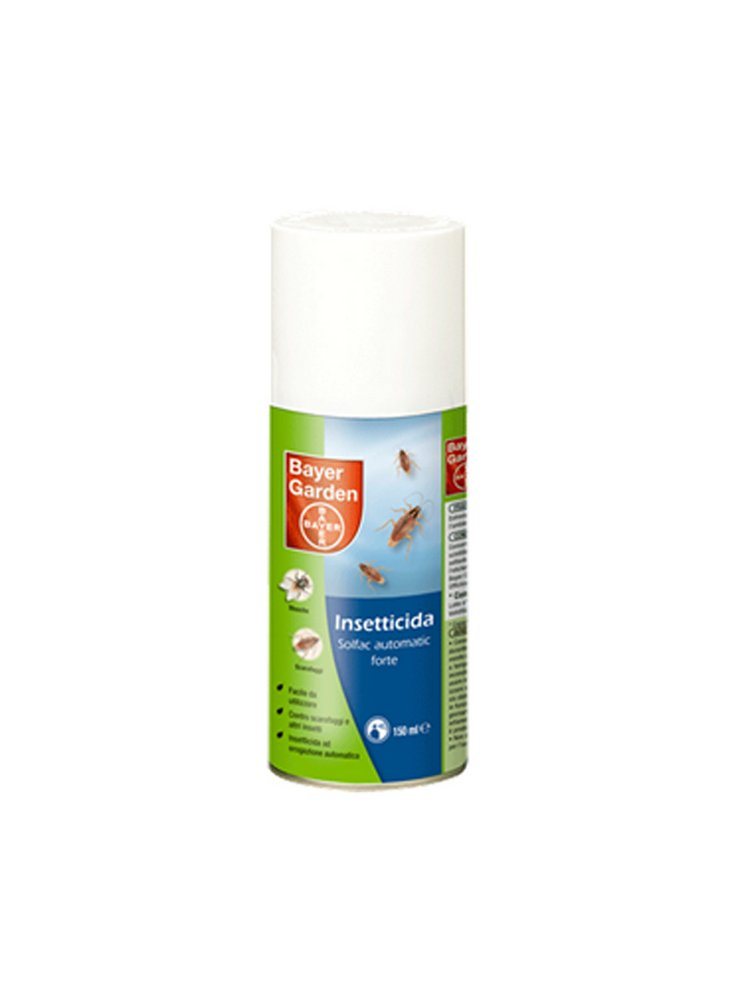 DISINFESTANTE BAYER SOLFAC AUTOMATIC CASA FORTE 150 ml