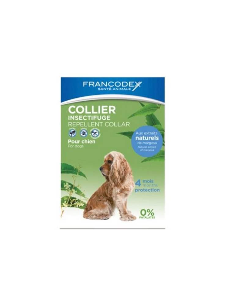 Collare antiparassitario per cani Francodex 10-20 kg