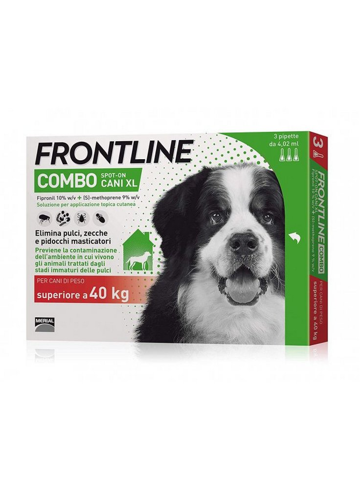 Frontline combo Cani XL 40-60KG