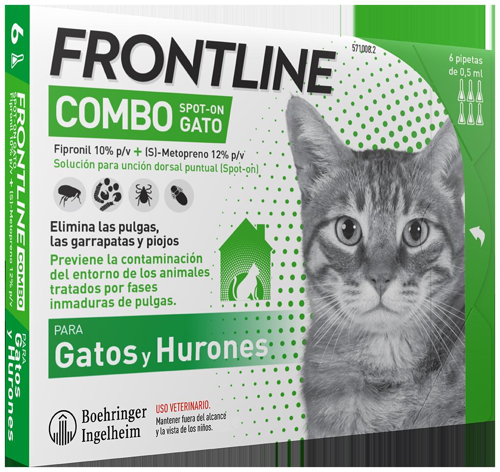 Antiparassitario per gatti Frontline combo Gatto 6 Fiale
