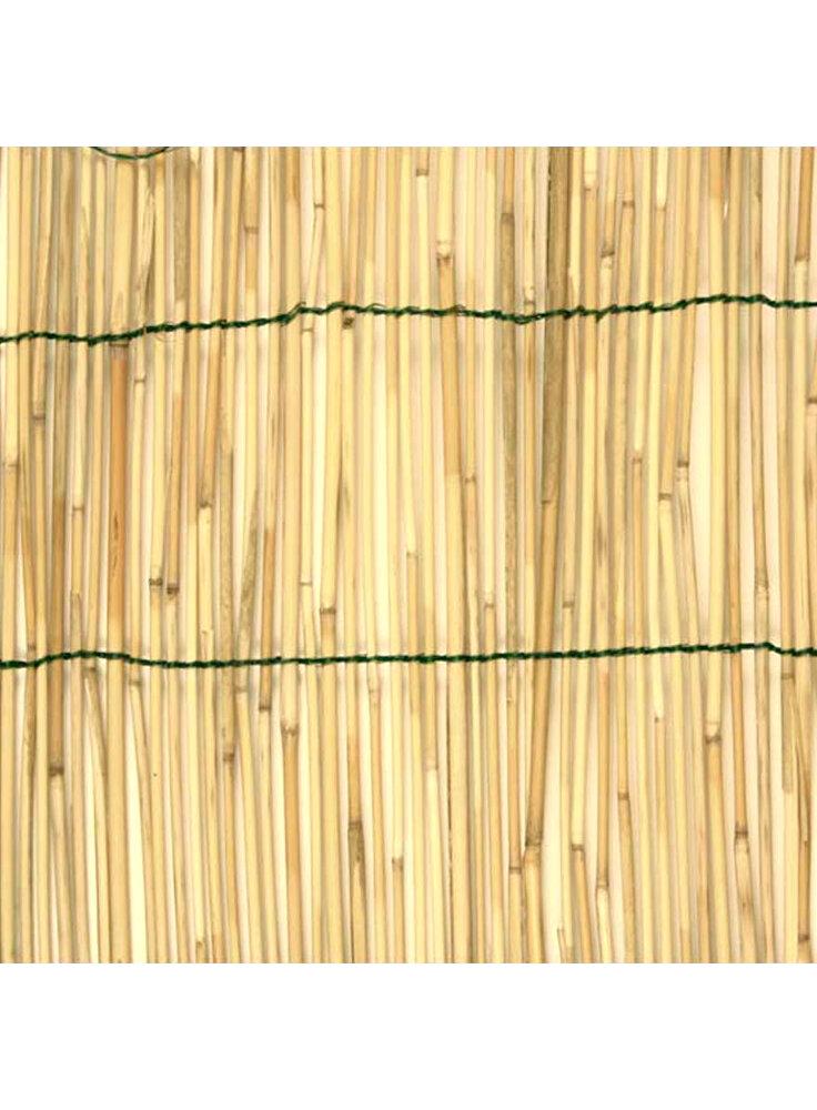 Arella bamboo naturale legata filo nylon