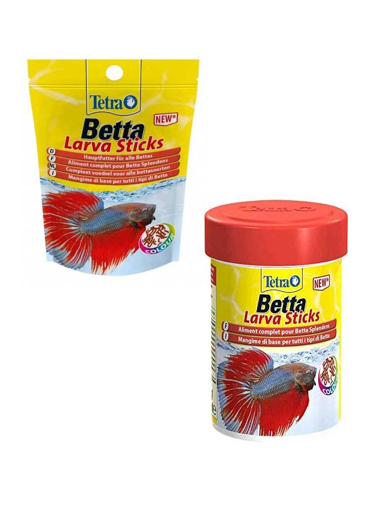 Tetra Betta Larva Sticks mangime per Betta pesce combattente