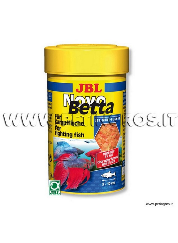 JBL Novo BETTA mangime per pesci combattenti 100 ml-
