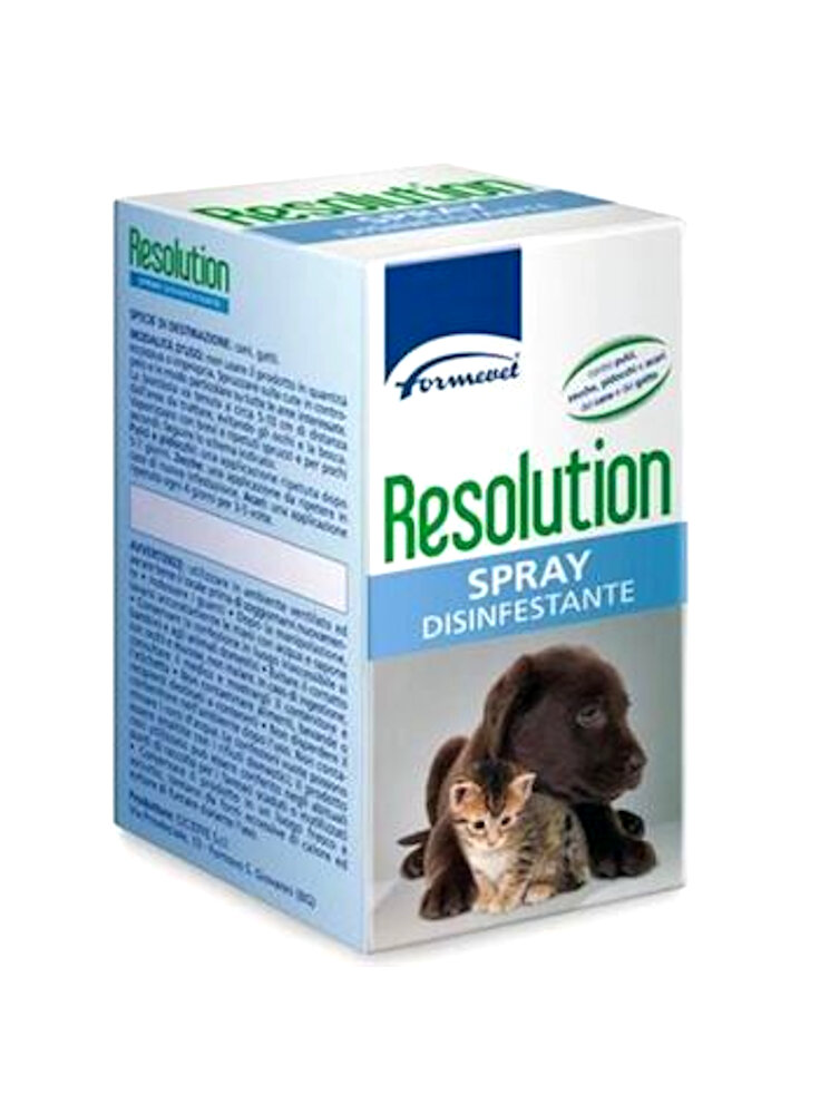 Resolution spray 250ml antiparassitario cane e gatto