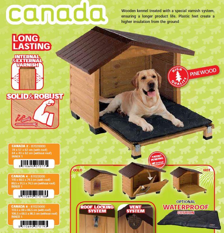 Vendita cucce per cani in legno offerta ferplast for Cucce per cani in offerta
