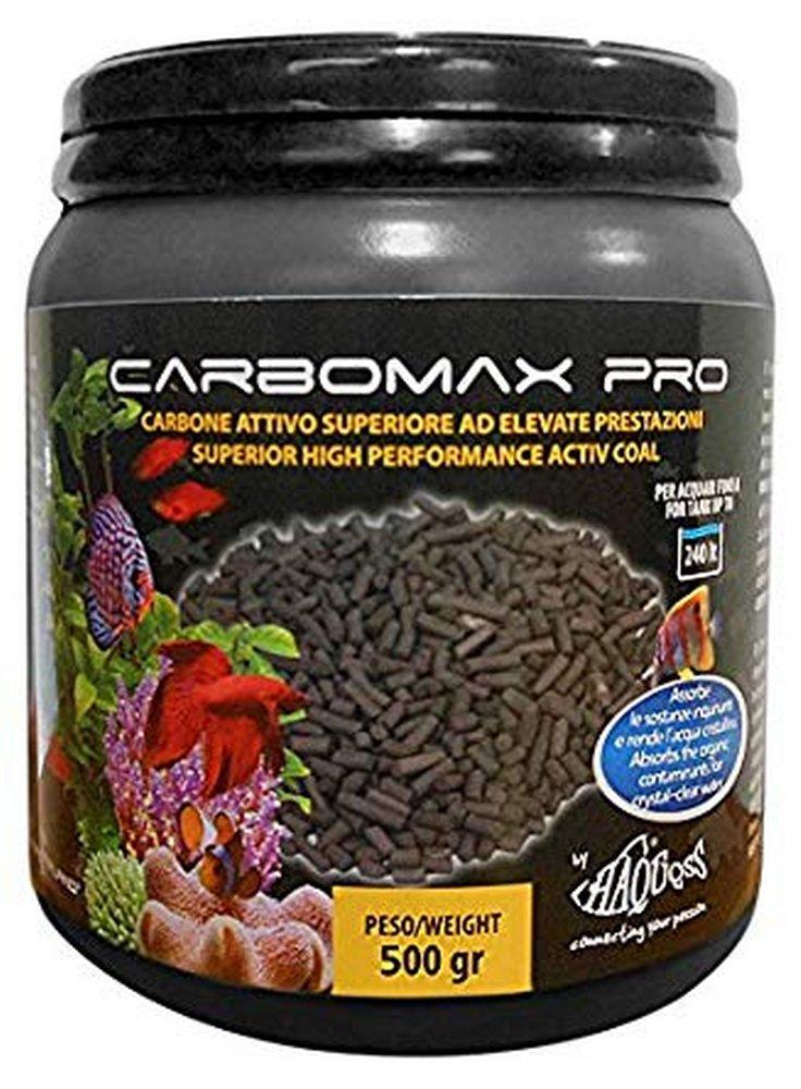 Haquoss carbomax pro carbone superattivo per pratiko e filtri esterni