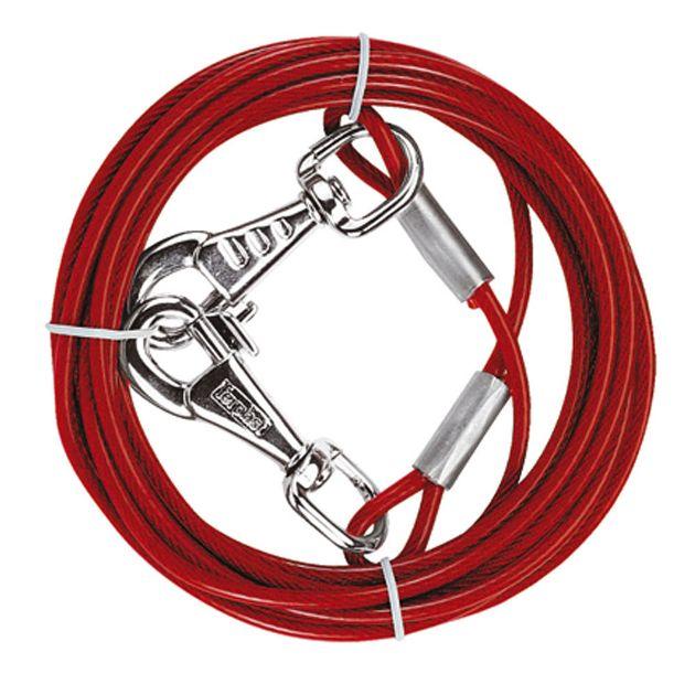Corda in acciaio millefili alta resistenza 3 - 4,5 mt