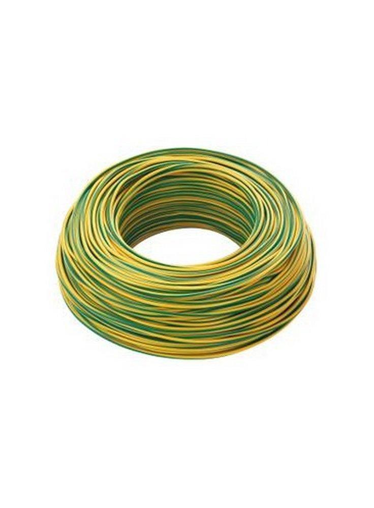 cavo-unipolare-n07v-k-1x25-giallo-verde-100-m