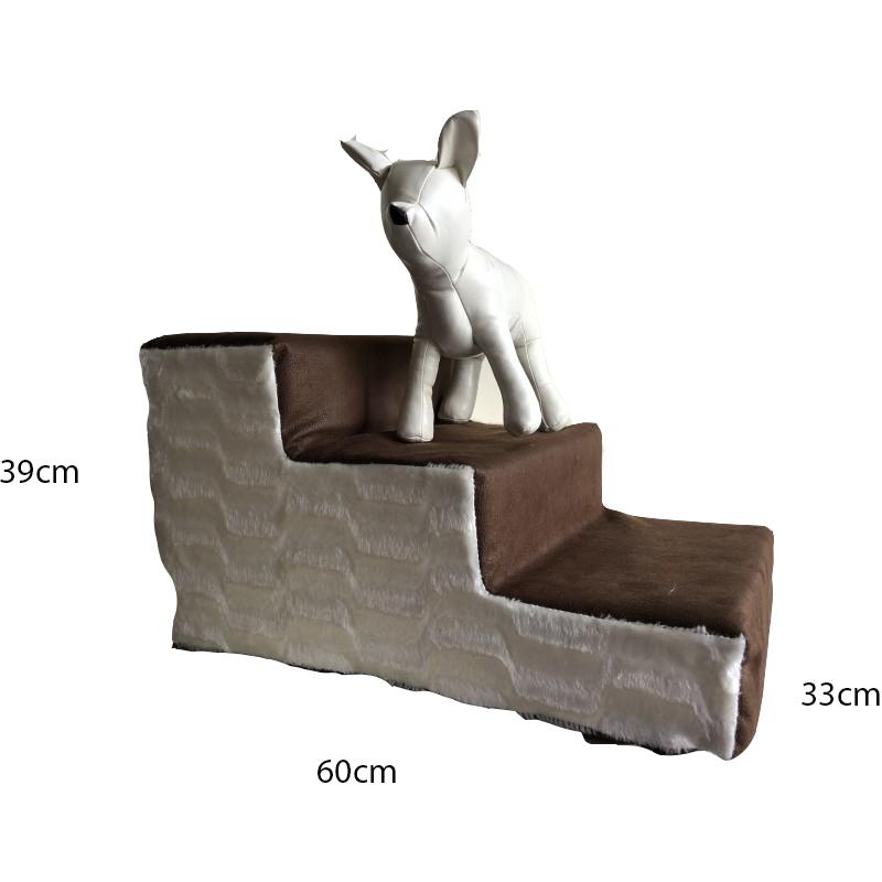 Scaletta rampa Scendiletto Sfoderabile 60x39x33 cm