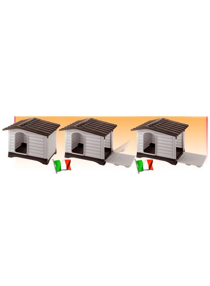 Cuccia per Cani da Esterno con Apertura Laterale DOGVILLA