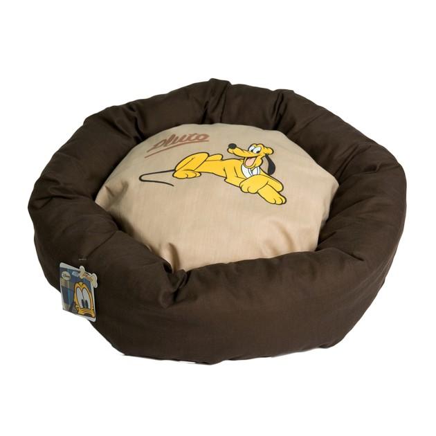 Cuccia cuscino Disney Jeans Oval Bed 50 cm PLUTO marrone piccola macchia
