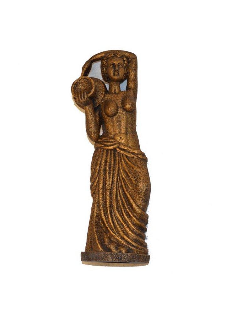 Statua Venere decorazione per acquari Bronze con anfora L 847052