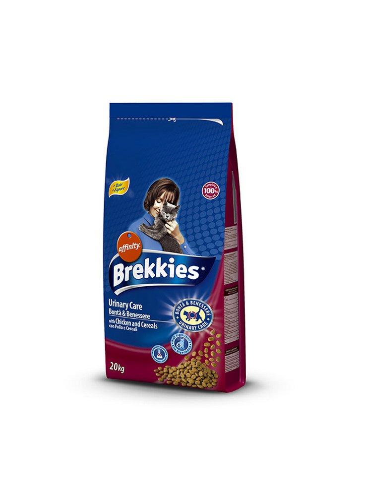 Affinity Brekkies Bontà e benessere  gatto urinary 20 Kg + gioco in omaggio